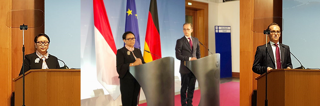 ©2018 Twitter @Menlu_RI | Retno Marsudi & Heiko Maas ; Bali Democracy Forum Berlin Chapter
